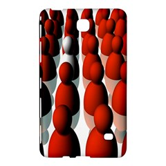 Red White Samsung Galaxy Tab 4 (7 ) Hardshell Case