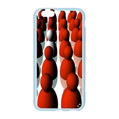 Red White Apple Seamless iPhone 6/6S Case (Color)