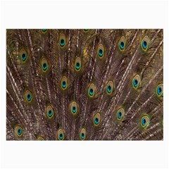 Purple Peacock Feather Wallpaper Large Glasses Cloth