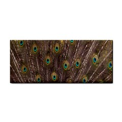 Purple Peacock Feather Wallpaper Cosmetic Storage Cases