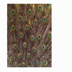 Purple Peacock Feather Wallpaper Large Garden Flag (Two Sides)