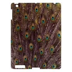 Purple Peacock Feather Wallpaper Apple iPad 3/4 Hardshell Case