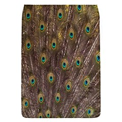Purple Peacock Feather Wallpaper Flap Covers (S)