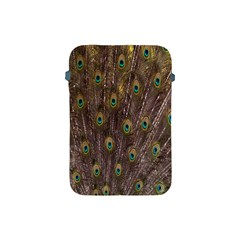 Purple Peacock Feather Wallpaper Apple iPad Mini Protective Soft Cases