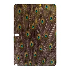 Purple Peacock Feather Wallpaper Samsung Galaxy Tab Pro 12.2 Hardshell Case