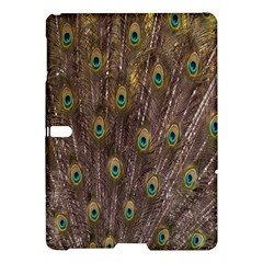 Purple Peacock Feather Wallpaper Samsung Galaxy Tab S (10.5 ) Hardshell Case