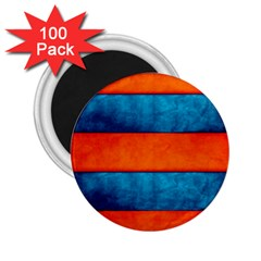 Red Blue 2.25  Magnets (100 pack)