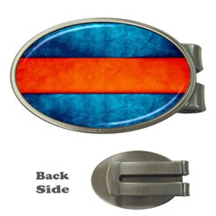 Red Blue Money Clips (Oval)