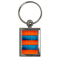 Red Blue Key Chains (Rectangle)