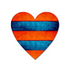 Red Blue Heart Magnet
