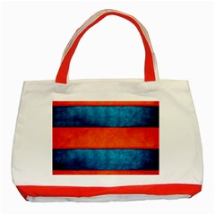 Red Blue Classic Tote Bag (Red)