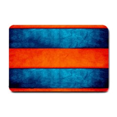 Red Blue Small Doormat