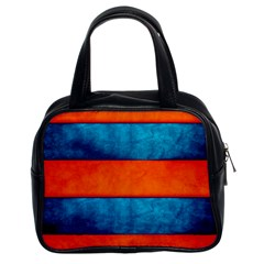 Red Blue Classic Handbags (2 Sides)