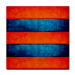 Red Blue Face Towel