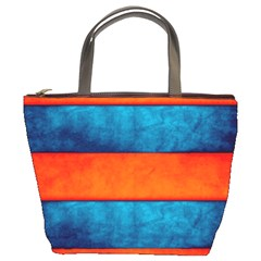 Red Blue Bucket Bags