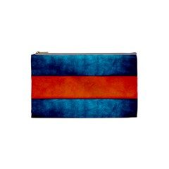 Red Blue Cosmetic Bag (Small)