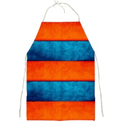 Red Blue Full Print Aprons