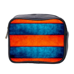 Red Blue Mini Toiletries Bag 2-Side