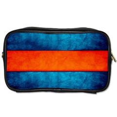 Red Blue Toiletries Bags 2-Side
