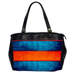 Red Blue Office Handbags (2 Sides)