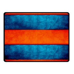 Red Blue Fleece Blanket (Small)