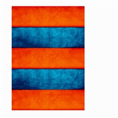 Red Blue Large Garden Flag (Two Sides)