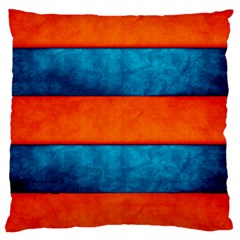 Red Blue Large Cushion Case (Two Sides)