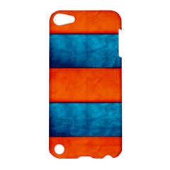 Red Blue Apple iPod Touch 5 Hardshell Case