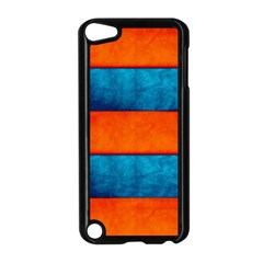 Red Blue Apple iPod Touch 5 Case (Black)