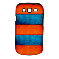 Red Blue Samsung Galaxy S III Classic Hardshell Case (PC+Silicone)