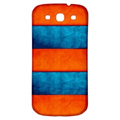 Red Blue Samsung Galaxy S3 S III Classic Hardshell Back Case