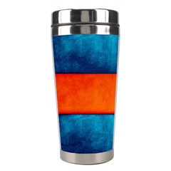 Red Blue Stainless Steel Travel Tumblers