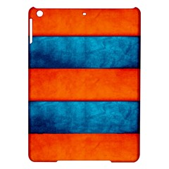Red Blue iPad Air Hardshell Cases