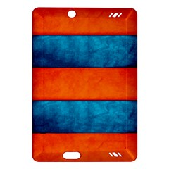 Red Blue Amazon Kindle Fire HD (2013) Hardshell Case