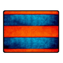 Red Blue Double Sided Fleece Blanket (Small)