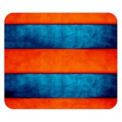 Red Blue Double Sided Flano Blanket (Small)