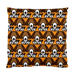 Sitbeagle Dog Orange Standard Cushion Case (Two Sides)