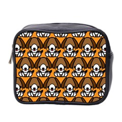 Sitbeagle Dog Orange Mini Toiletries Bag 2-Side