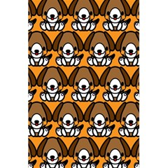 Sitbeagle Dog Orange 5.5  x 8.5  Notebooks