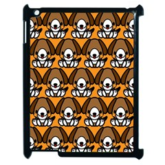 Sitbeagle Dog Orange Apple iPad 2 Case (Black)