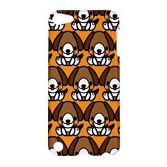 Sitbeagle Dog Orange Apple iPod Touch 5 Hardshell Case
