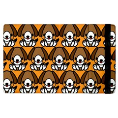Sitbeagle Dog Orange Apple iPad 2 Flip Case