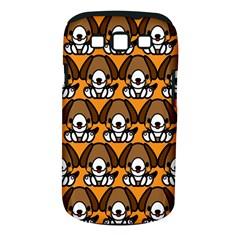 Sitbeagle Dog Orange Samsung Galaxy S III Classic Hardshell Case (PC+Silicone)