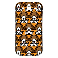 Sitbeagle Dog Orange Samsung Galaxy S3 S III Classic Hardshell Back Case