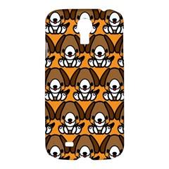 Sitbeagle Dog Orange Samsung Galaxy S4 I9500/I9505 Hardshell Case