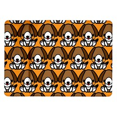 Sitbeagle Dog Orange Samsung Galaxy Tab 10.1  P7500 Flip Case