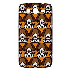 Sitbeagle Dog Orange Samsung Galaxy Mega 5.8 I9152 Hardshell Case