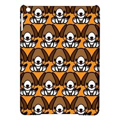 Sitbeagle Dog Orange iPad Air Hardshell Cases