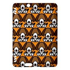 Sitbeagle Dog Orange Kindle Fire HDX Hardshell Case