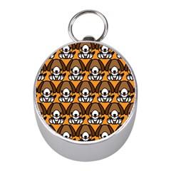 Sitbeagle Dog Orange Mini Silver Compasses